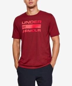 Under Armour Team Issue Wordmark Tricou pentru Bărbați - 74745 - culoarea Roșu