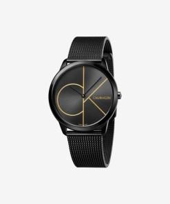 Calvin Klein Minimal Ceas pentru Bărbați - 89500 - culoarea Negru
