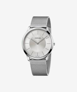 Calvin Klein Minimal Ceas pentru Bărbați - 74491 - culoarea Argintiu