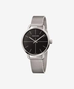 Calvin Klein Even Extension Ceas pentru Bărbați - 89629 - culoarea Argintiu