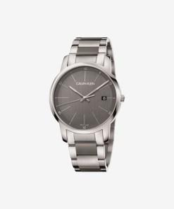 Calvin Klein City Ceas pentru Bărbați - 89635 - culoarea Argintiu