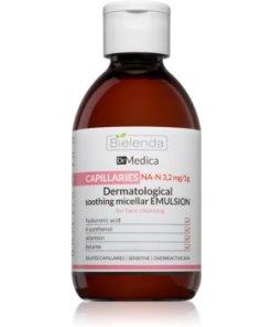 Bielenda Dr Medica Capillaries apă micelară calmantă pentru pielea predispusă la roseata