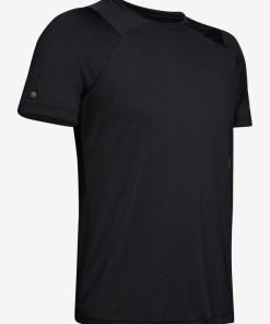 Under Armour RUSH™ Tricou pentru Bărbați - 90261 - culoarea Negru