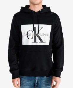 Calvin Klein Hanorac pentru Bărbați - 80644 - culoarea Negru