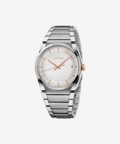 Calvin Klein Step Ceas pentru Bărbați - 89411 - culoarea Argintiu