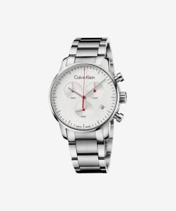 Calvin Klein City Ceas pentru Bărbați - 89468 - culoarea Argintiu