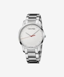 Calvin Klein City Ceas pentru Bărbați - 89469 - culoarea Argintiu