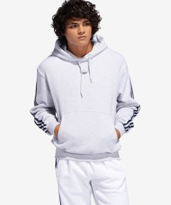 adidas Originals Off Court Hanorac pentru Bărbați - 92354 - culoarea Alb Gri