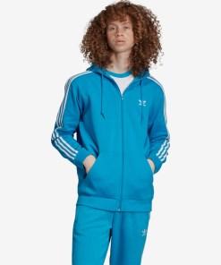 adidas Originals 3-stripes Hanorace pentru Bărbați - 92366 - culoarea Albastru