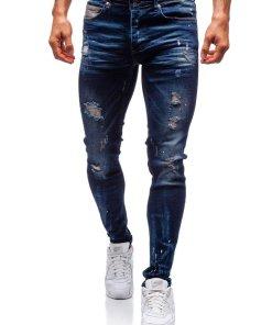 Jeansi pentru barbat bleumarin Bolf 1037