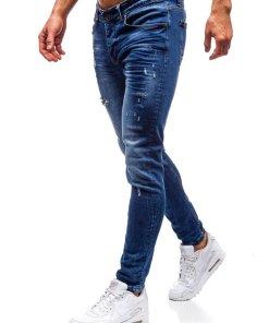 Jeansi pentru barbat bleumarin Bolf 1016