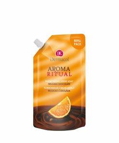 Rezerva sapun lichid Aroma Ritual refill Belgian chocolate