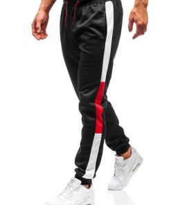Pantaloni de trening barbati negri Bolf 35003