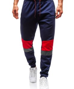 Pantaloni de trening joggers barbati bleumarin Bolf 35002
