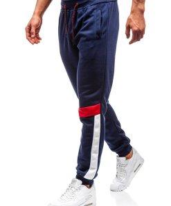 Pantaloni de trening joggers barbati bleumarin Bolf 35001