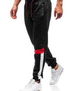 Pantaloni de trening joggers barbati negru Bolf 35001