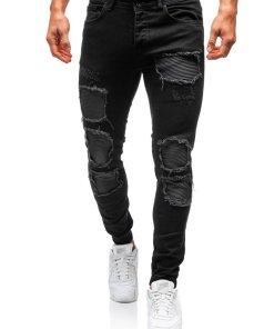 Pantaloni trening barbati negru Bolf 820