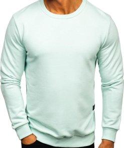 Bluza barbati verde-menta Bolf 171715