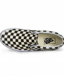 Teniși Classic Slip-on (blur check) black/classic white