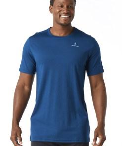 Tricou barbatesc SMARTWOOL Merino 150, albastru
