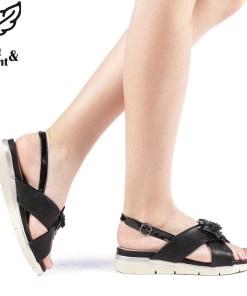 Sandale dama Sabrine negre