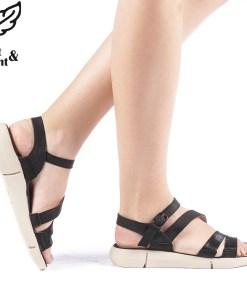 Sandale dama Argia negre