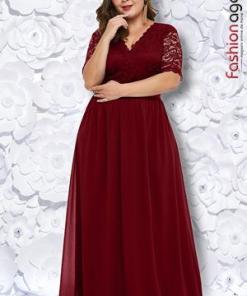 Rochie XXL Desire 189 Bordo