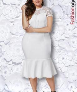 Rochie XXL Desire 220 Alba