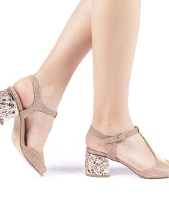 Sandale dama Letitia champanie