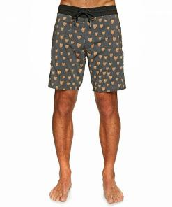 "Boardshorts Ozzie Trunk 17"" black"