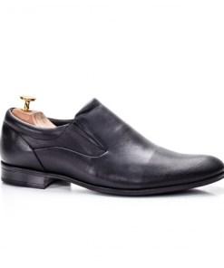 Pantofi barbati Piele naturala eleganti negri Callew