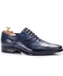 Pantofi eleganti barbati Piele naturala albastri Chance