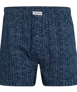 Sort barbatesc CECEBA Pure Cotton albastru