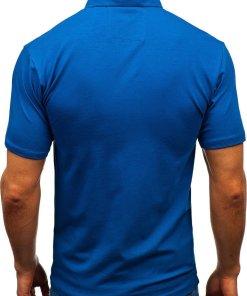 Tricou polo bărbați bleumarin Bolf 192037