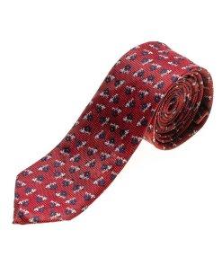 Cravată elegantă bărbați roșu Bolf K103