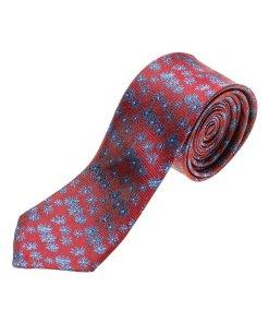 Cravată elegantă bărbați bordo Bolf K107