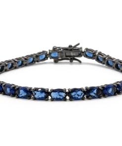 Bratara Argint Deep Blue