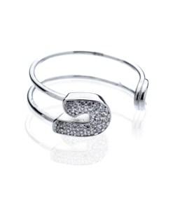 Inel Argint White Pin