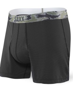 Sort barbatesc SAXX Quest 2.0 Loose Black