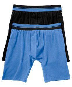 Chilot Boxer bonprix - negru/albastru
