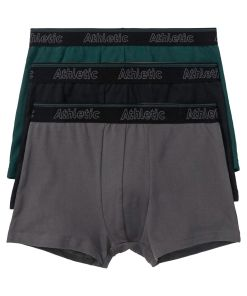 Chilot Boxer bonprix - verde tern-negru-gri