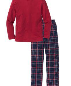 Pijama bonprix - rosu cadrilat