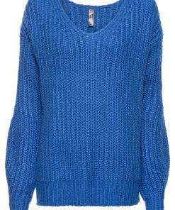 Pulover tricotatabonprix - azuriu