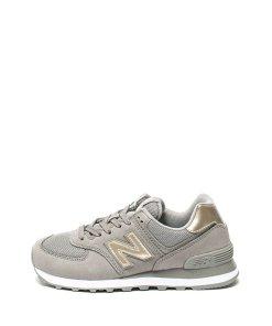 Pantofi sport cu garnituri de piele intoarsa 574 Classics 2131775