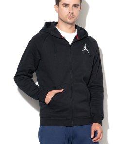 Hanorac negru cu detaliu logo Jumpman 2129429