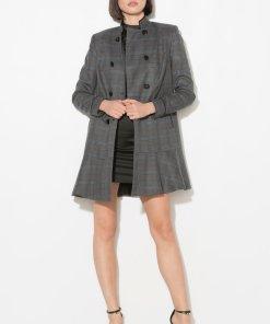 Palton cu model tartan 283963