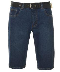 Blugi scurti Pierre Cardin Web Belt Shorts Mens