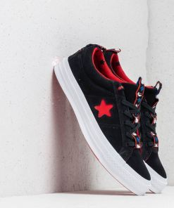 Converse x Hello Kitty One Star OX Black/ Fiery Red/ White