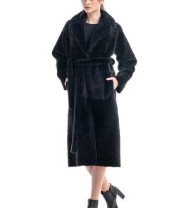 Palton din blană de miel reversibil 2007