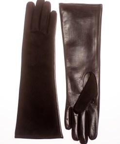 Mănuși de damă lungi, confectionate din piele naturală M101